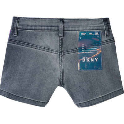 DKNY Girls Denim Shorts D34981/Z02