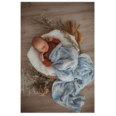 Snuggle Hunny Kids Organic Cotton Muslin Wrap Eventide Miss Kyree Loves
