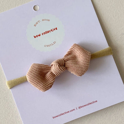 Bow Collective Gigi Knot Bow -  Dusty Salmon