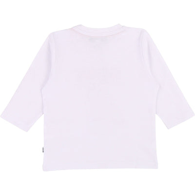 Hugo Boss Baby Long Sleeve T-Shirt White (4696333254787)
