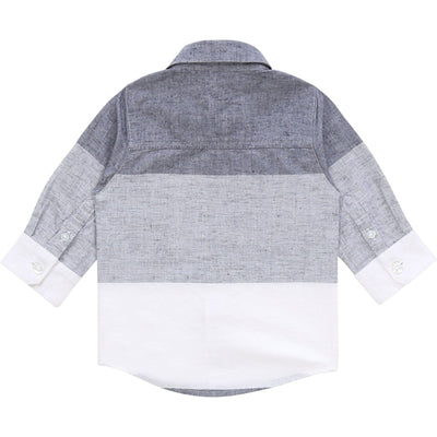 Hugo Boss Long Sleeve Linen Shirt