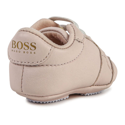 Hugo Boss Baby Trainers - Pale Pink J99078/44L