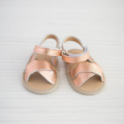 Little Entourage Frankie Sandal Rose Gold