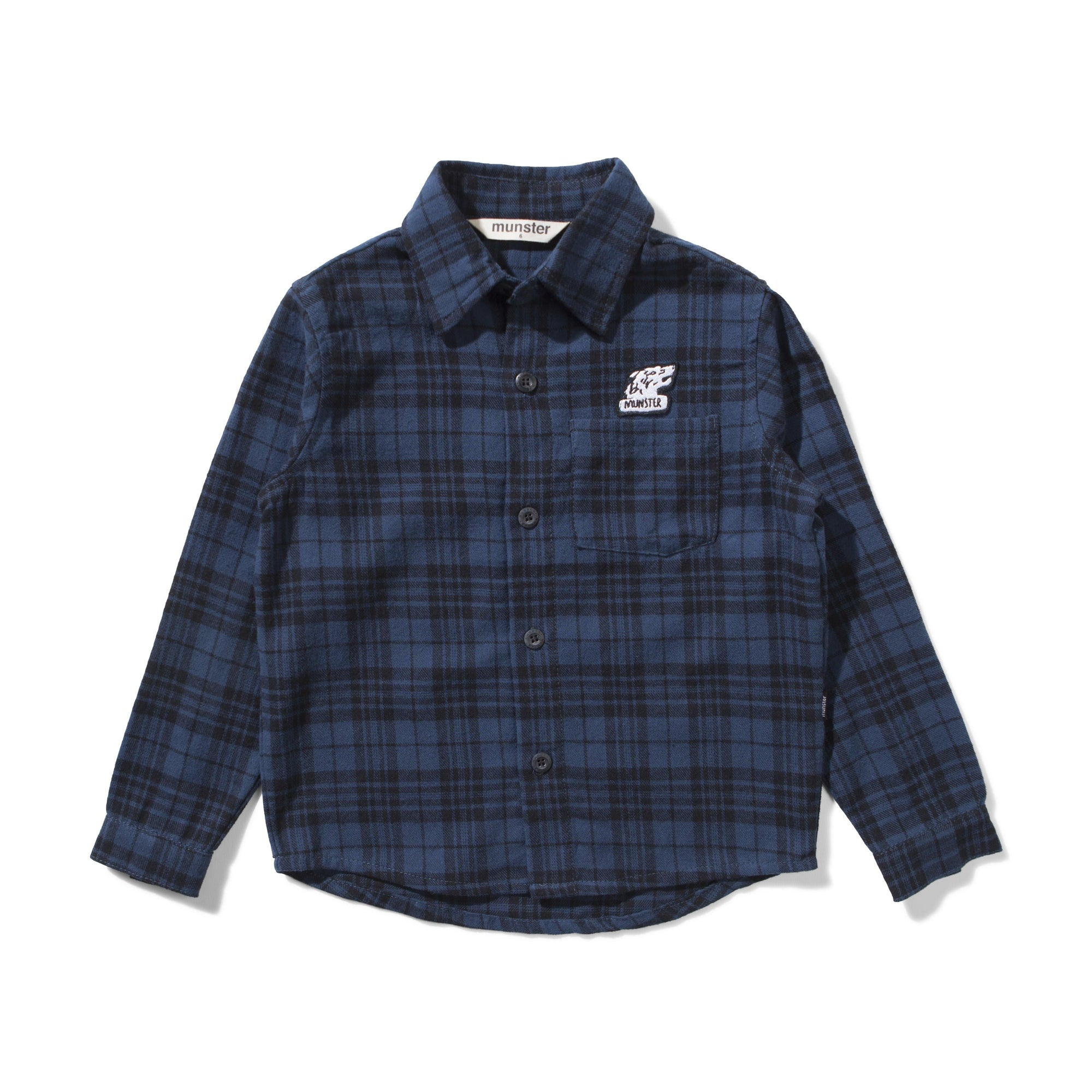 Munster Kids Niseiko Shirt Blue (4687703867523)