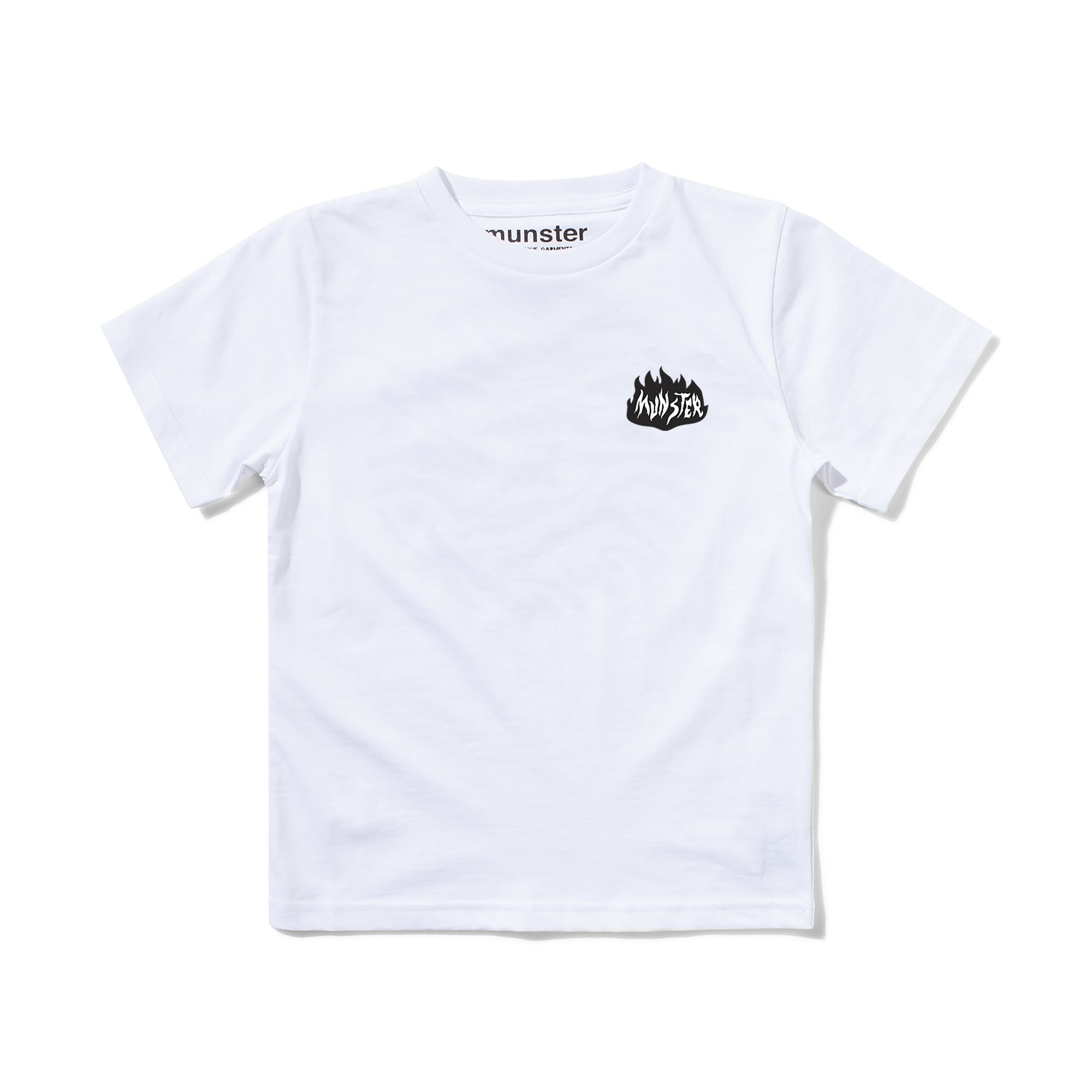 Munster Kids On Fire Tee White