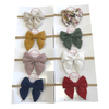 Fabowlous Accessories Mini Sailor Bow Headband