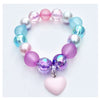Sweet as Sugar Jewellery Beaded Pastel Swirl Lollipop Necklace