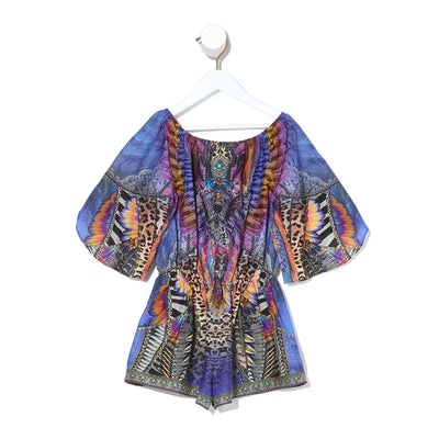 Camilla Love On The Wing 3/4 Flare Sleeve Playsuit