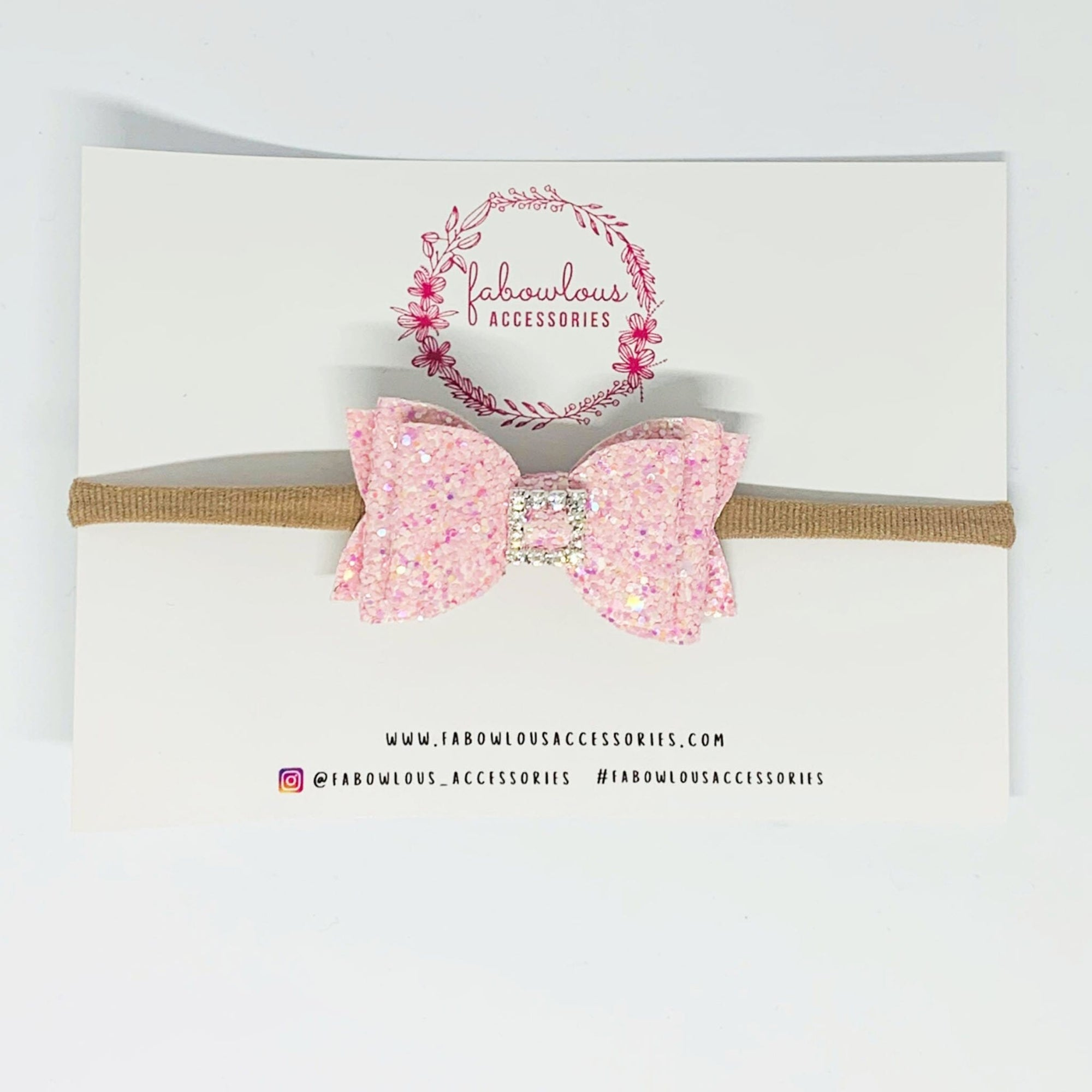 Fabowlous Accessories Royal Embellished Baby Headband