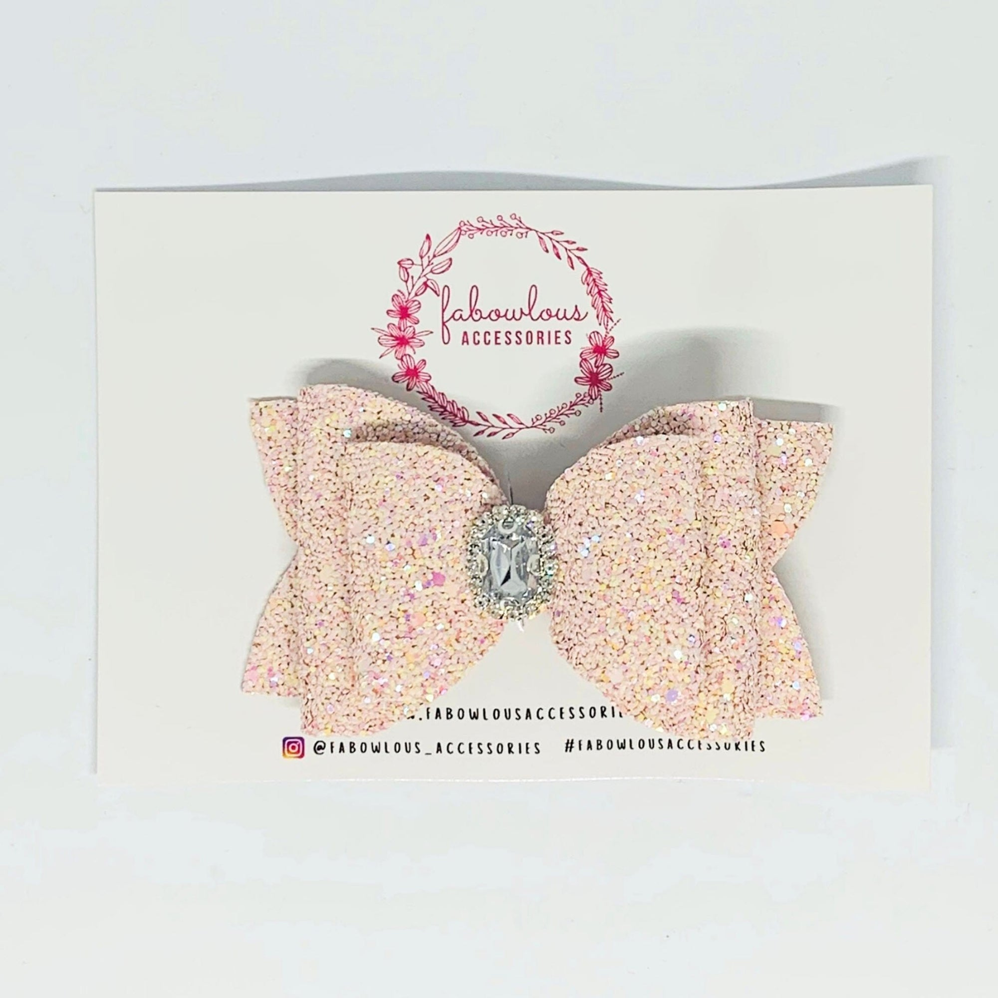 Fabowlous Accessories Royal Embellished Bow (5002063773827)