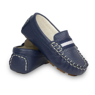Oscar Sorento Navy Loafers
