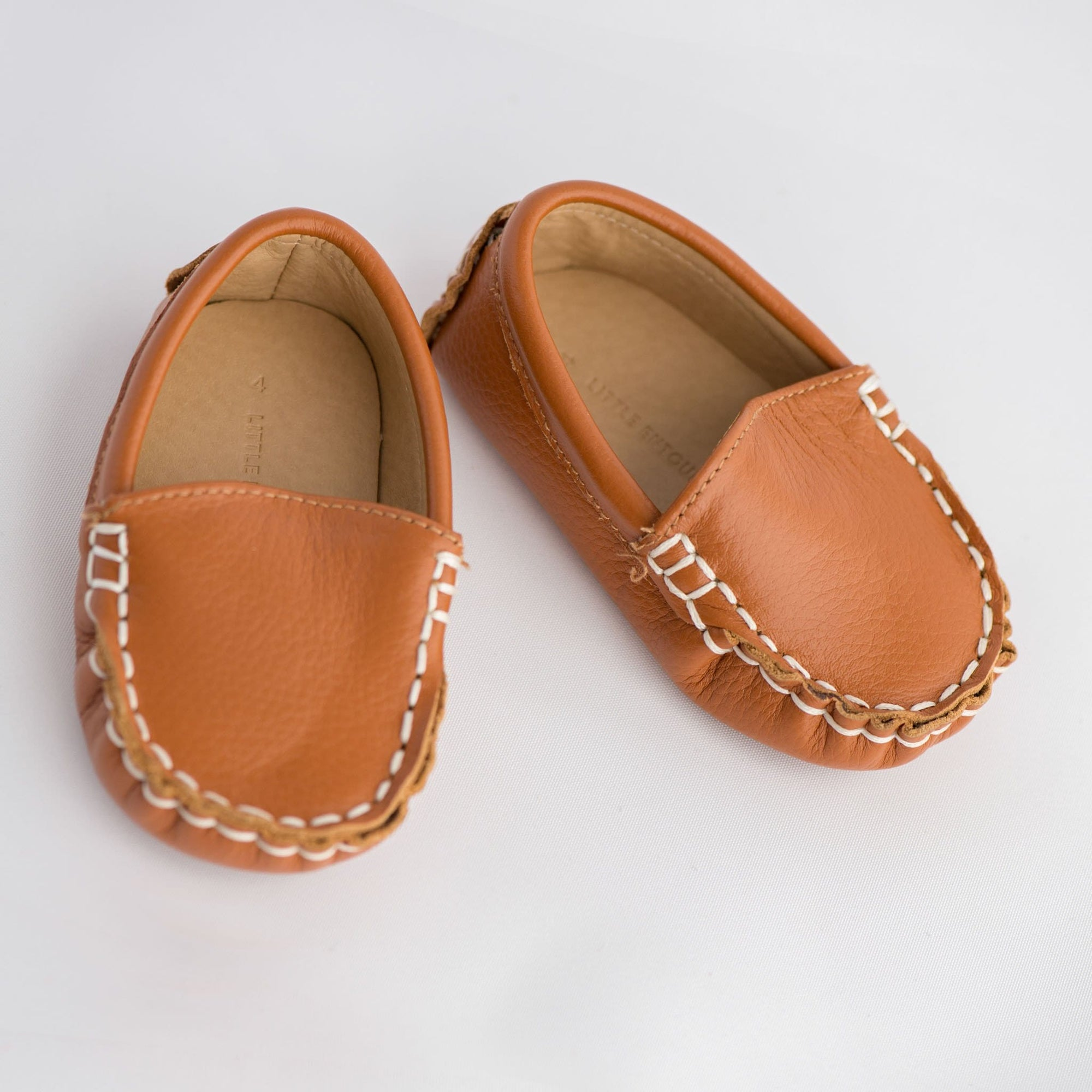 Little Entourage  Domenic Leather Loafer Tan