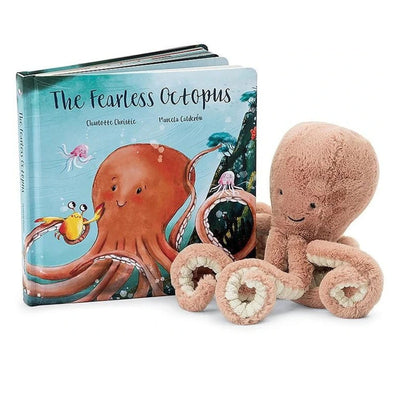 Jelly Cat The Fearless Octopus Book