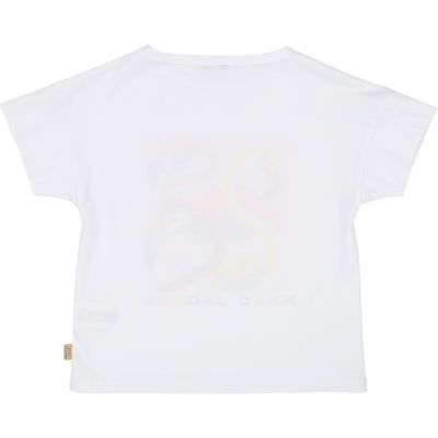 Little Marc Jacobs Flamingo T-Shirt (4694333882499)