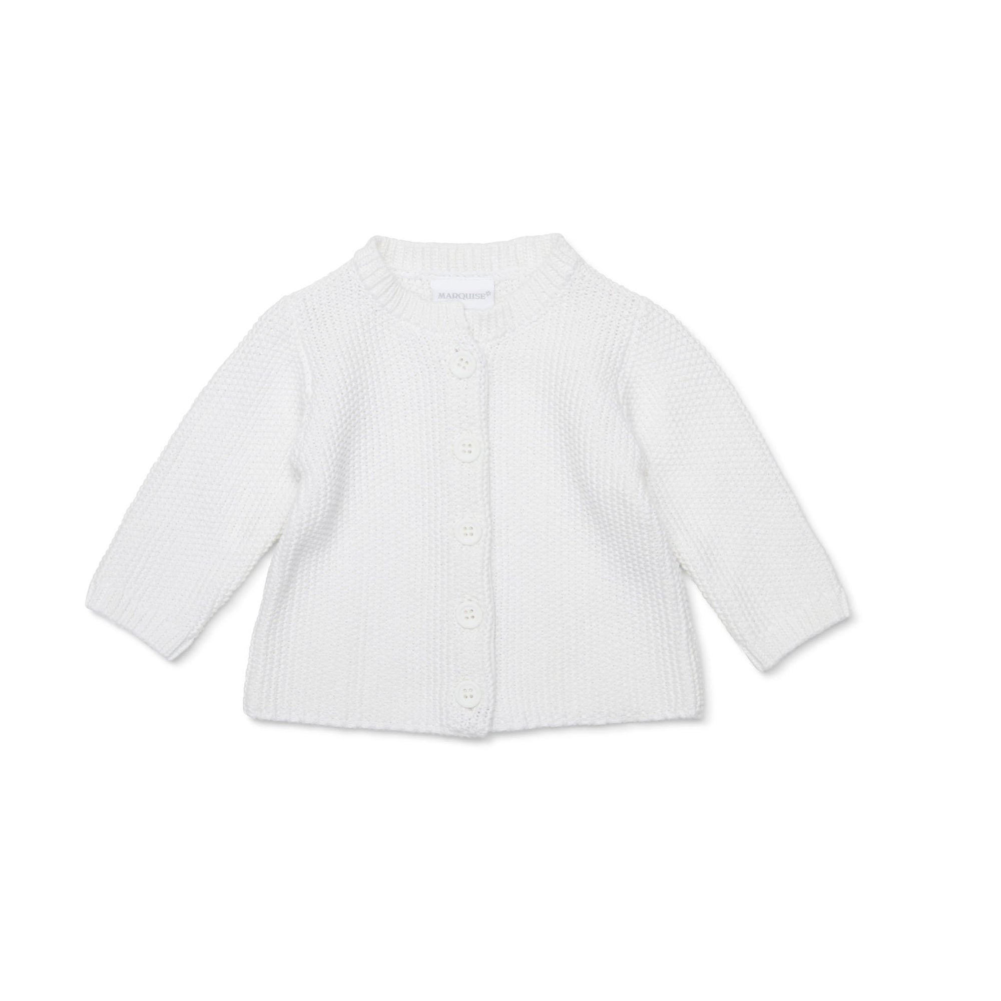 Marquise Knitted Cardigan White