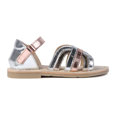 Carrement Beau Tri Colour Sandals