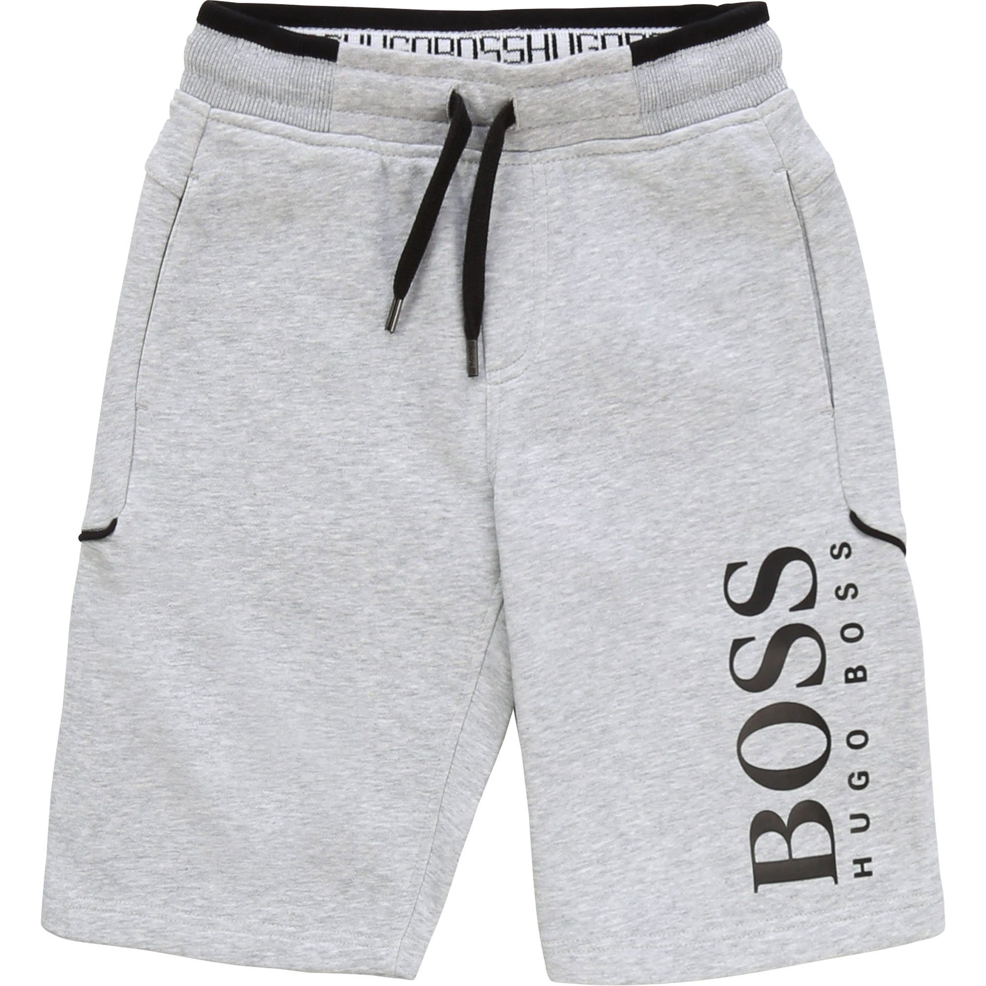 Hugo Boss Branded Track Shorts Chine Grey J24628/A32