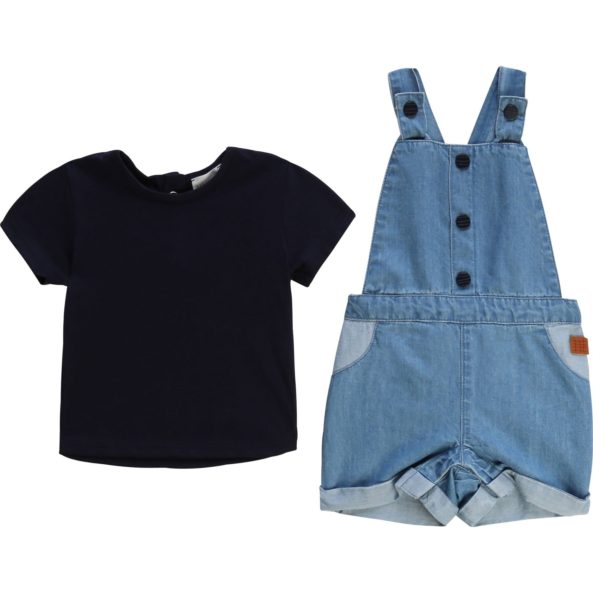 Carrement Beau T-shirt and Overall Set