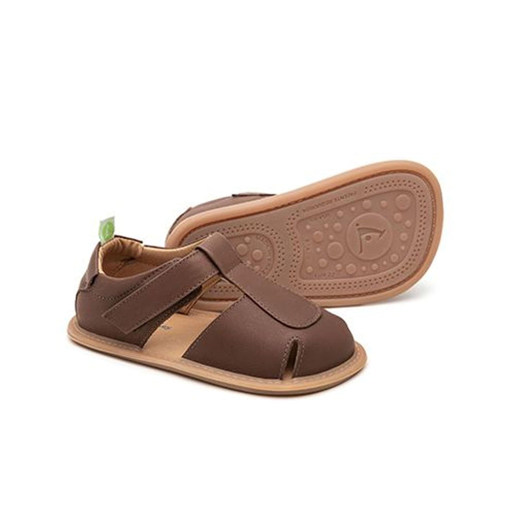 Tip Toey Joey Parky Sandal - Old Brown