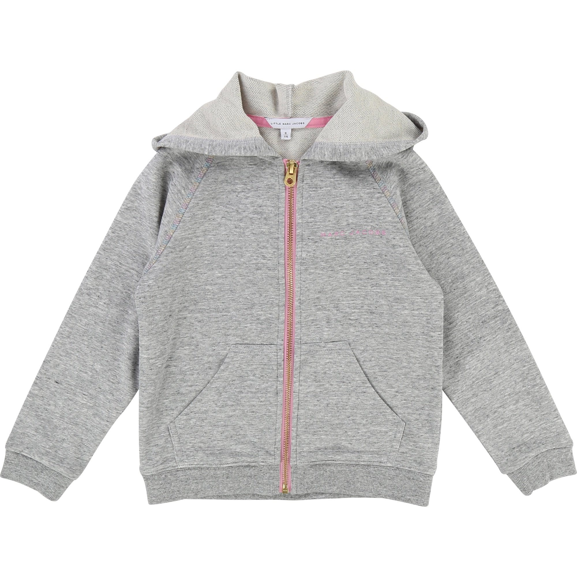 Little Marc Jacobs Girls Hooded Tracksuit (4694480093315)