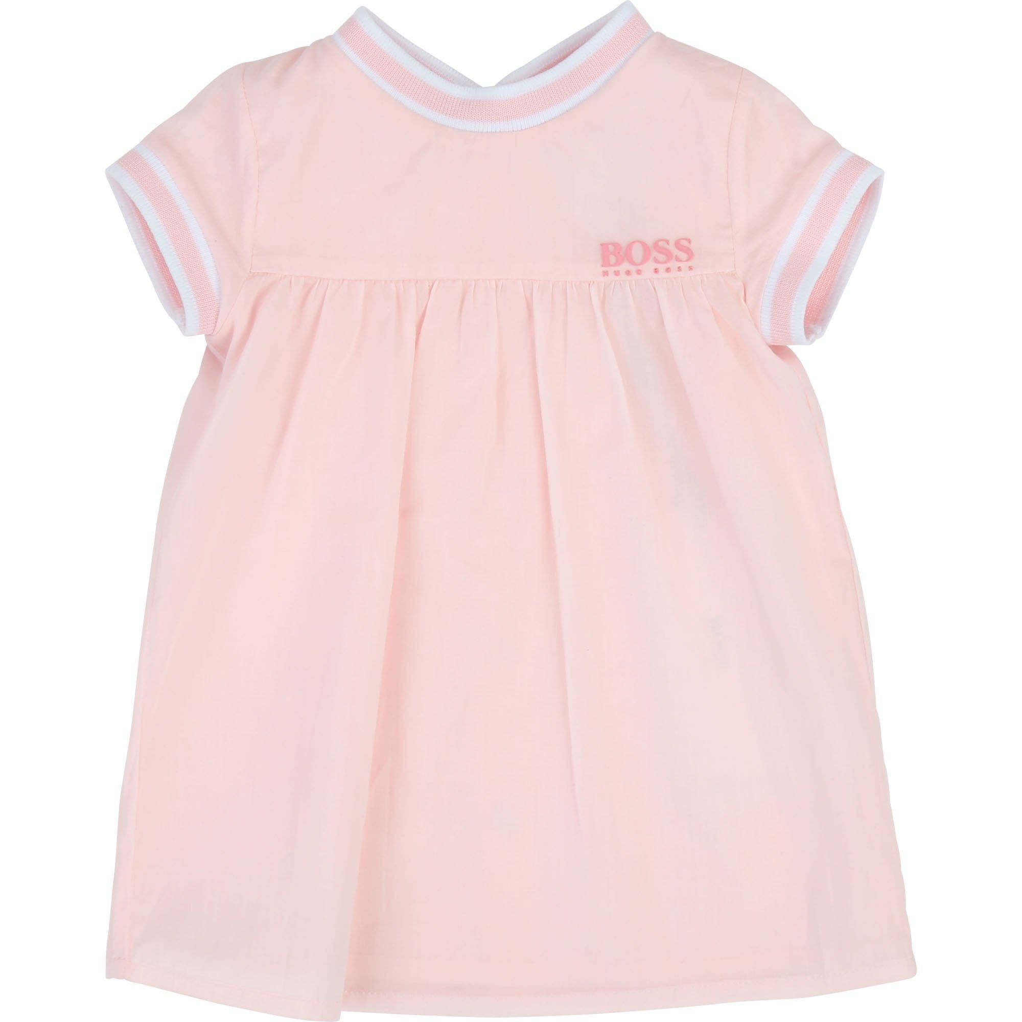 Hugo Boss Baby Dress Pink (4693835481219)