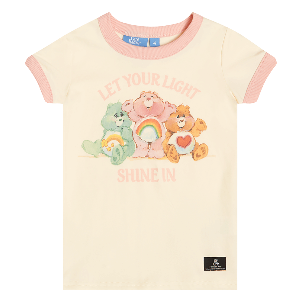 Rock Your Baby Let Your Light Shine In Baby T-Shirt - Care Bears