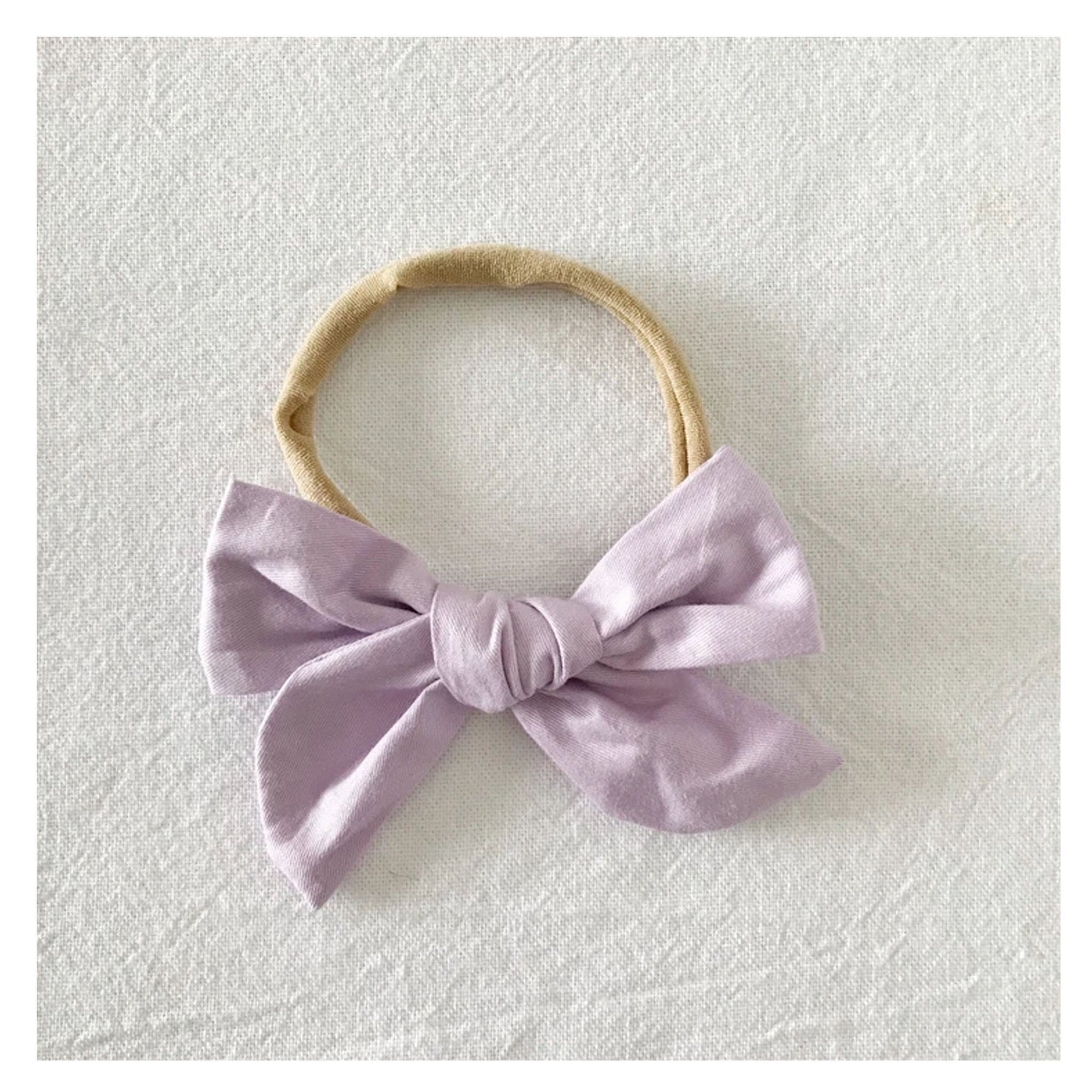 Bow Collective Pinwheel Hair Bow Lilac
