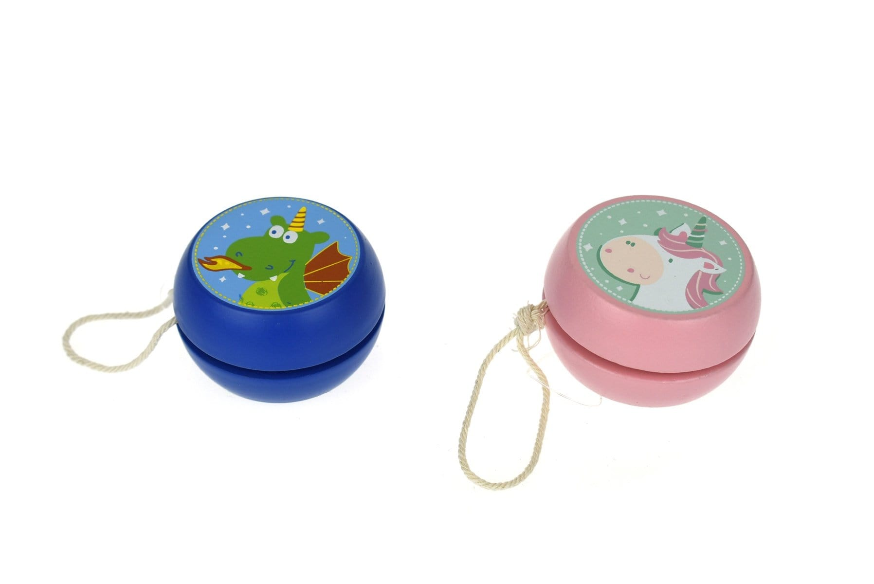 Eleganter Wooden Yoyo Unicorn & Dragon