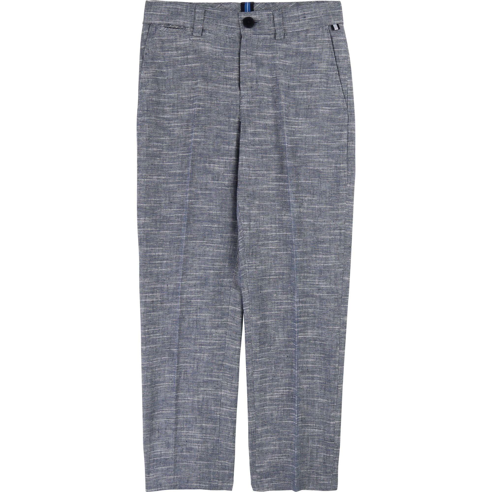Hugo Boss Suit Blue Trouser (4703837585539)