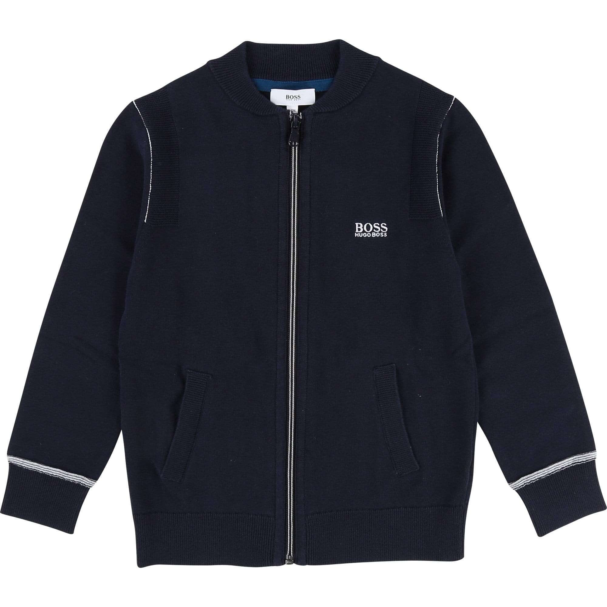 Hugo Boss Navy Cardigan