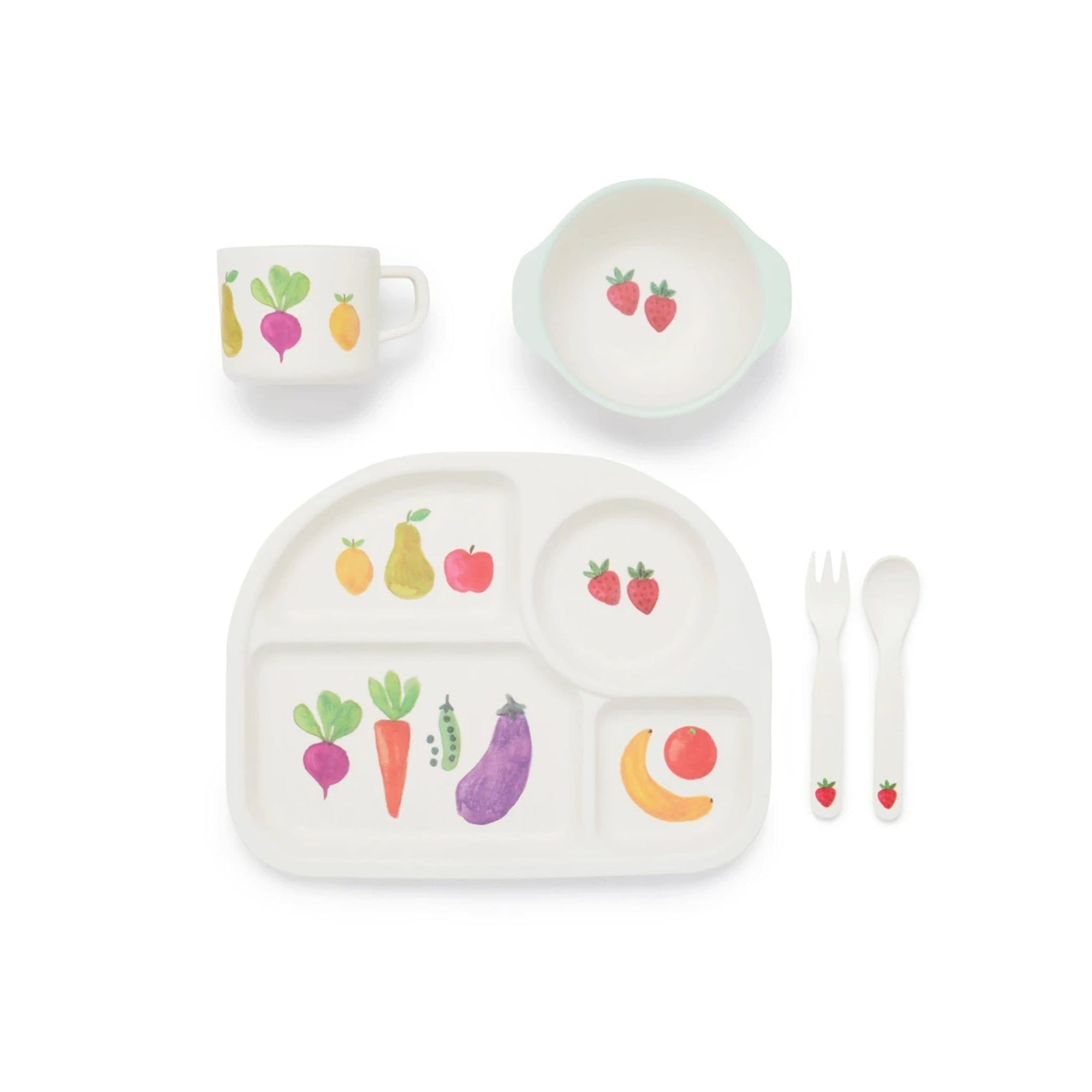 Pure Baby Dinnerware Set - Farmers Market