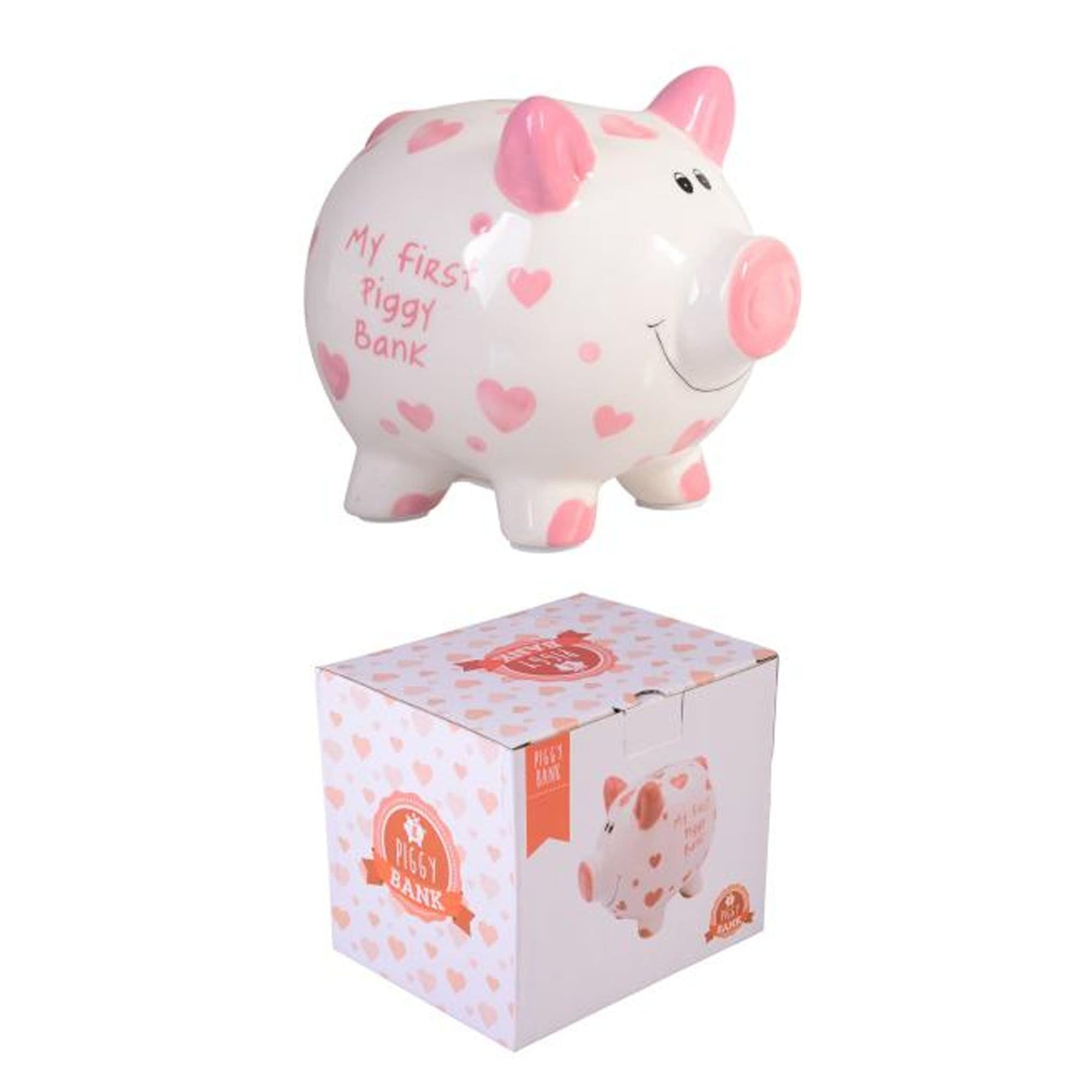 My First Piggy Bank - Pink
