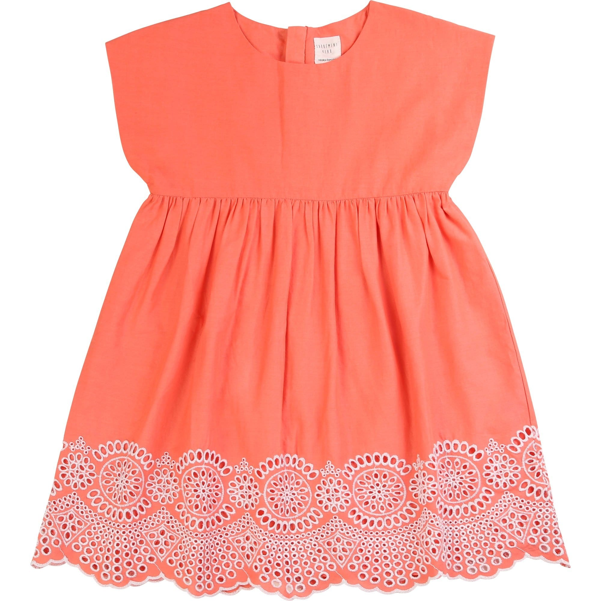 Carrement Beau Embroidered Dress Apricot Y12203/44P