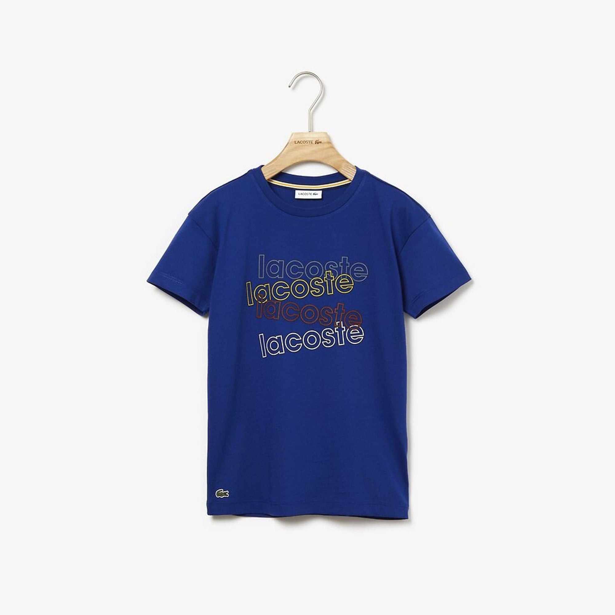 Lacoste Athleisure Boys T-Shirt Captain Blue (4684417597571)