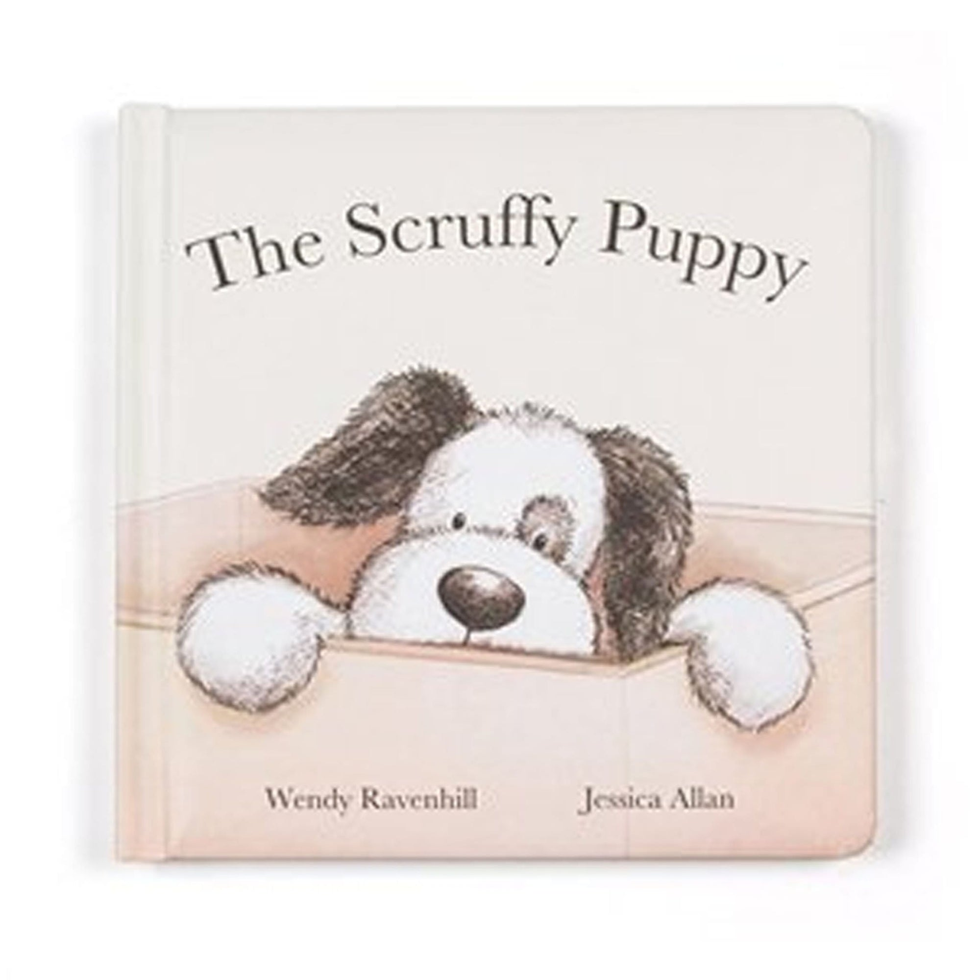 Jelly Cat Scruffy Puppy Book