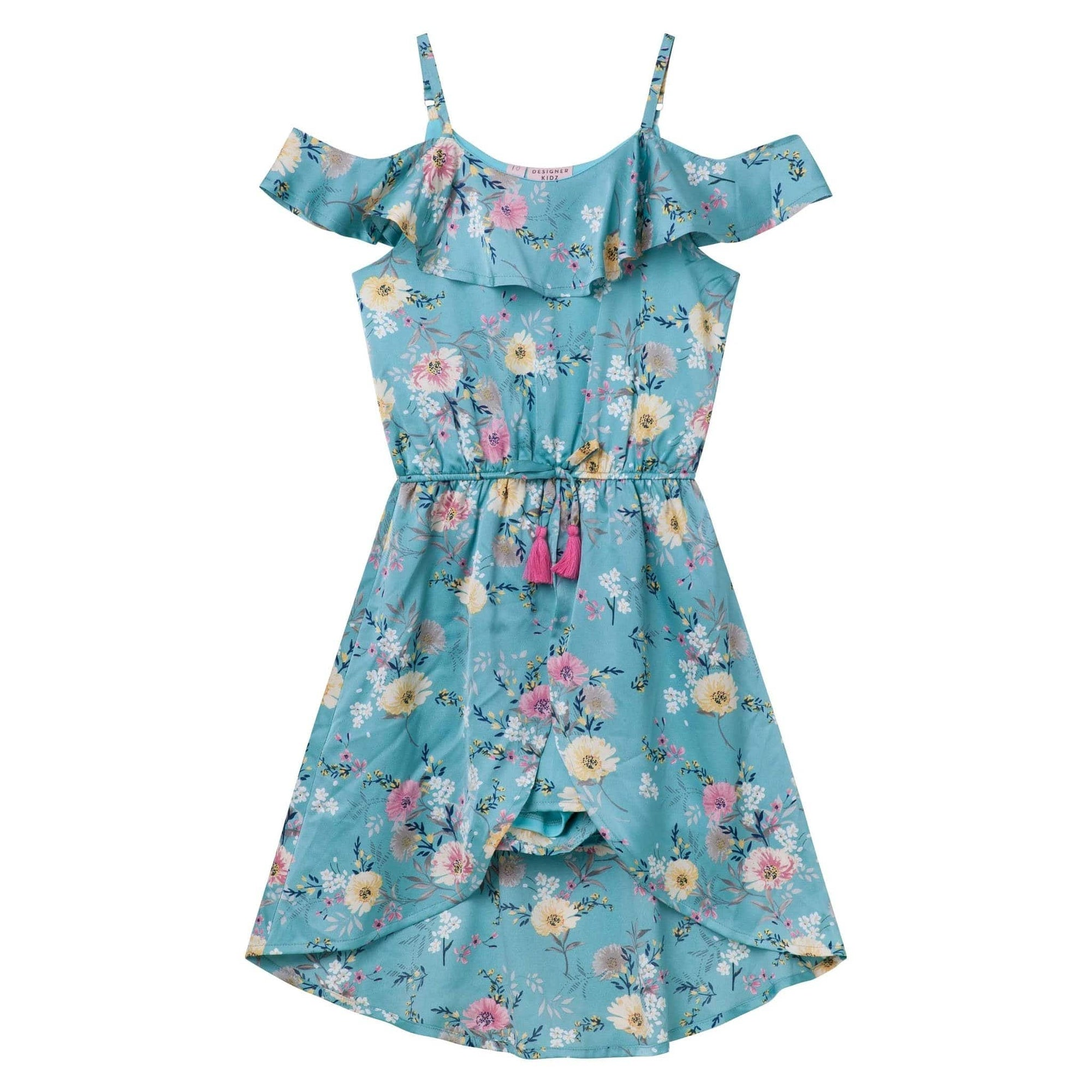 Designer Kidz Jacinta Walkthrough Playsuit - Aqua
