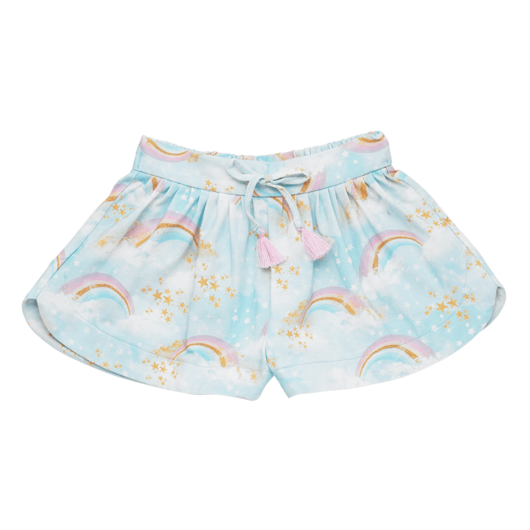 Rock Your Kid Rainbow Chaser Shorts