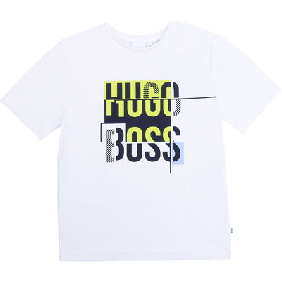 Hugo Boss Short Sleeve Logo T-Shirt J25G25/10B