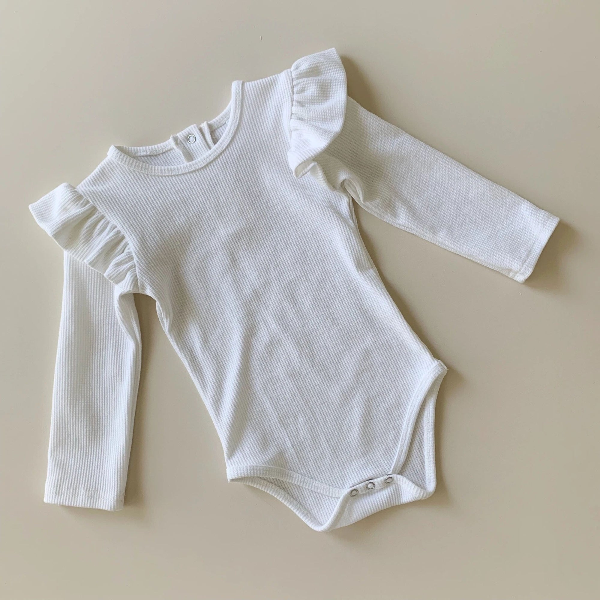 Bow Collective Coco Bodysuit - Milk