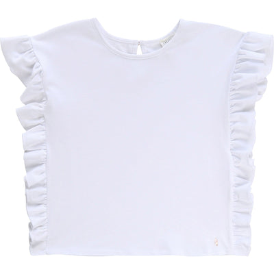 Carrement Beau Frill Short Sleeve T-Shirt White