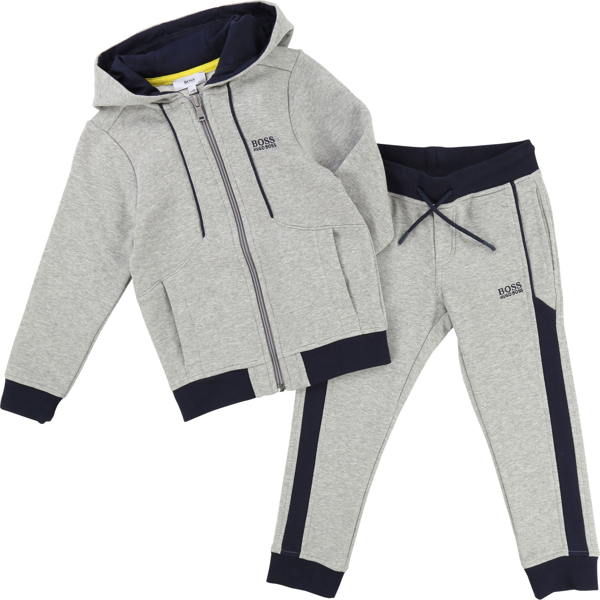 Hugo Boss Boys Cadet Tracksuit Grey