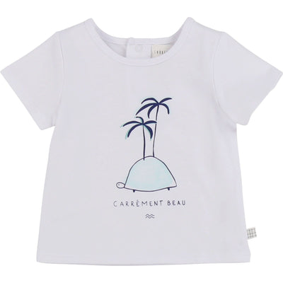 Carrement Beau Baby Short Sleeve T-Shirt White