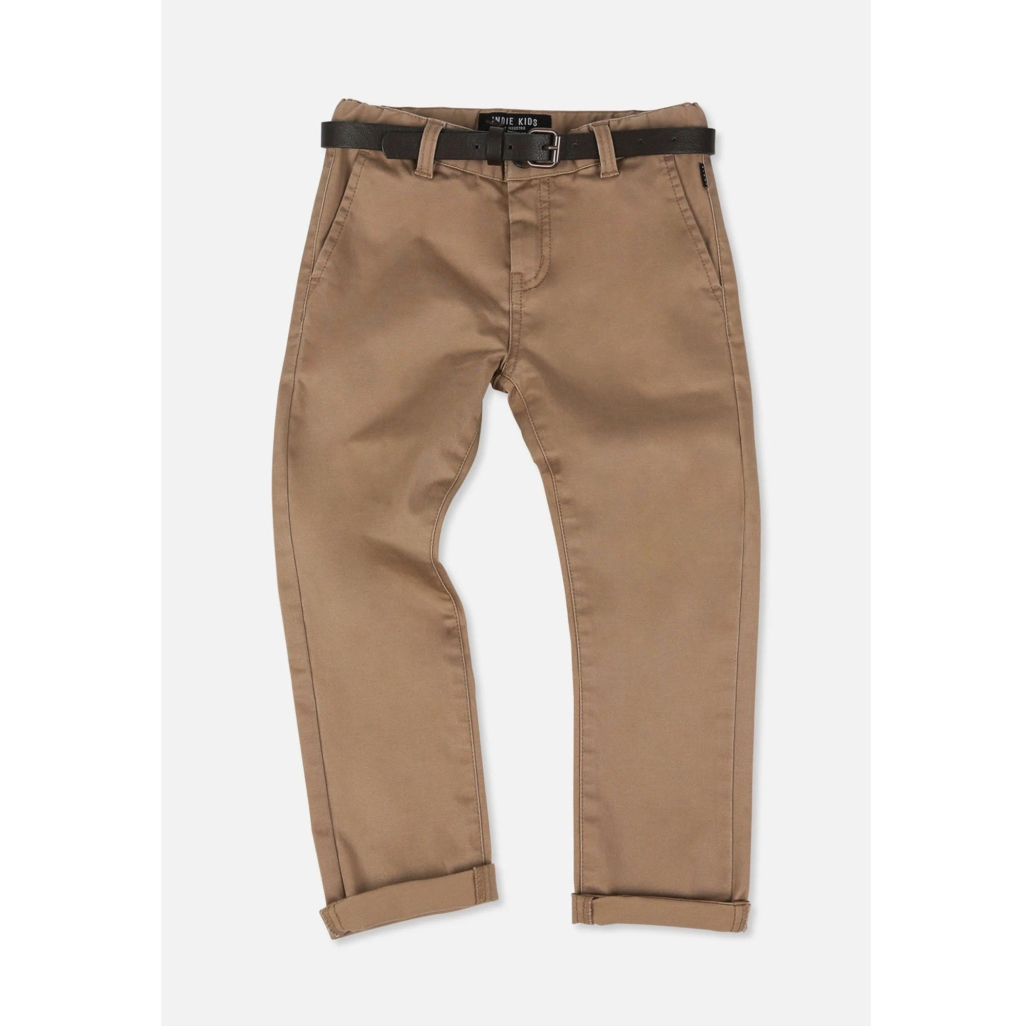 Industrie Kids Tweens Cuba Stretch Chino Caramel
