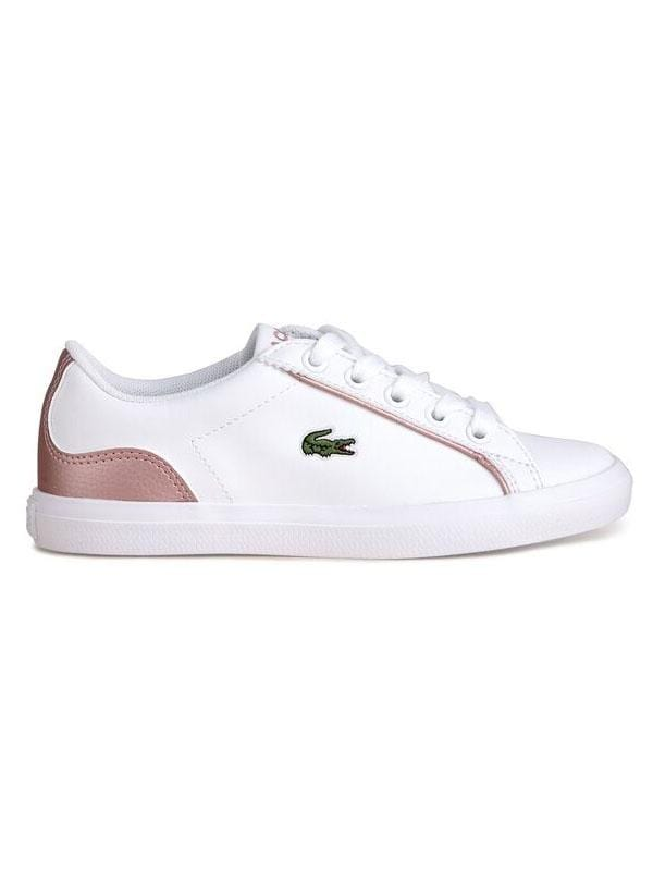 Lacoste Lerond319 2 CUC WHT/PINK SYN Kids (4670773133443)