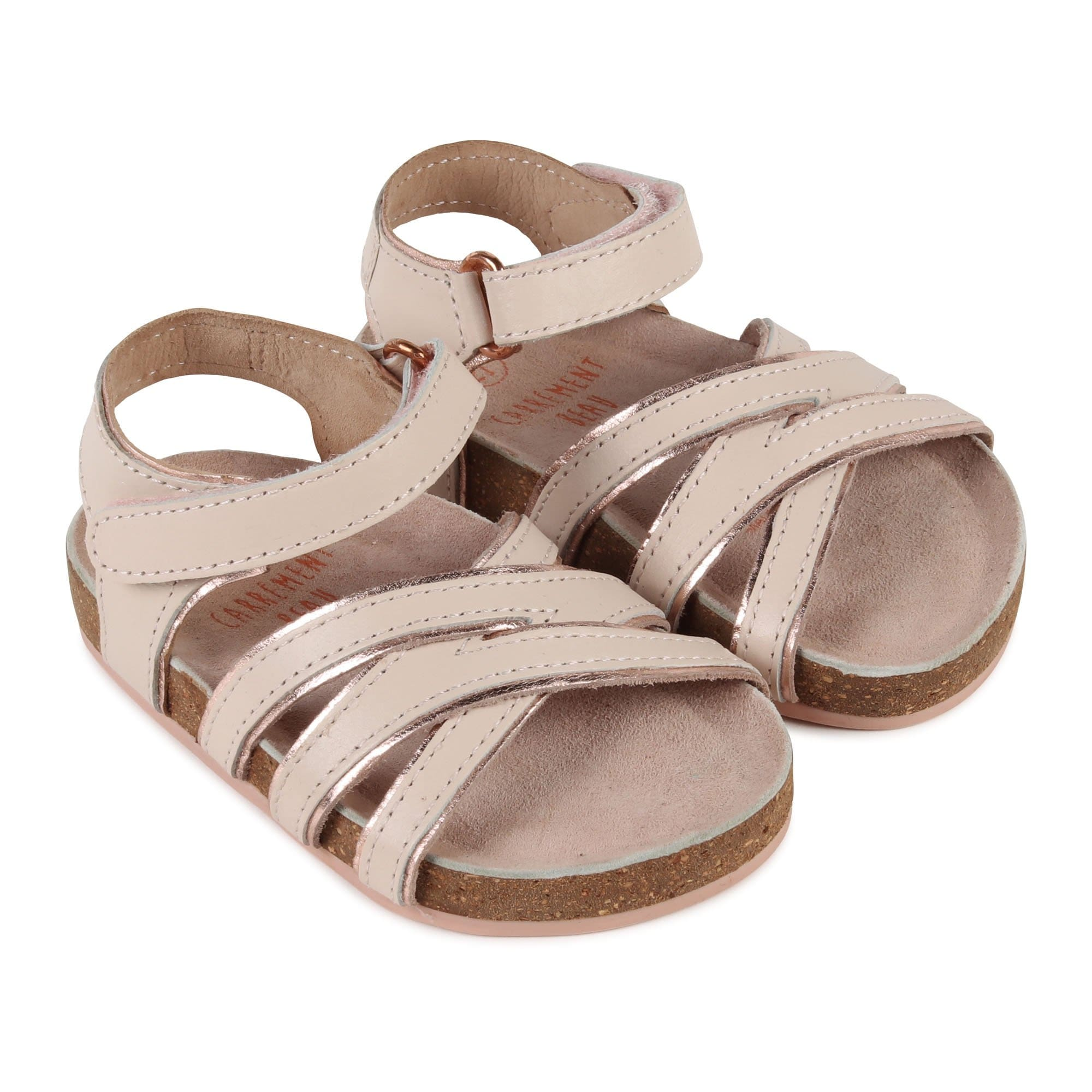 Carrement Beau Pale Pink Sandals Y09005/45S