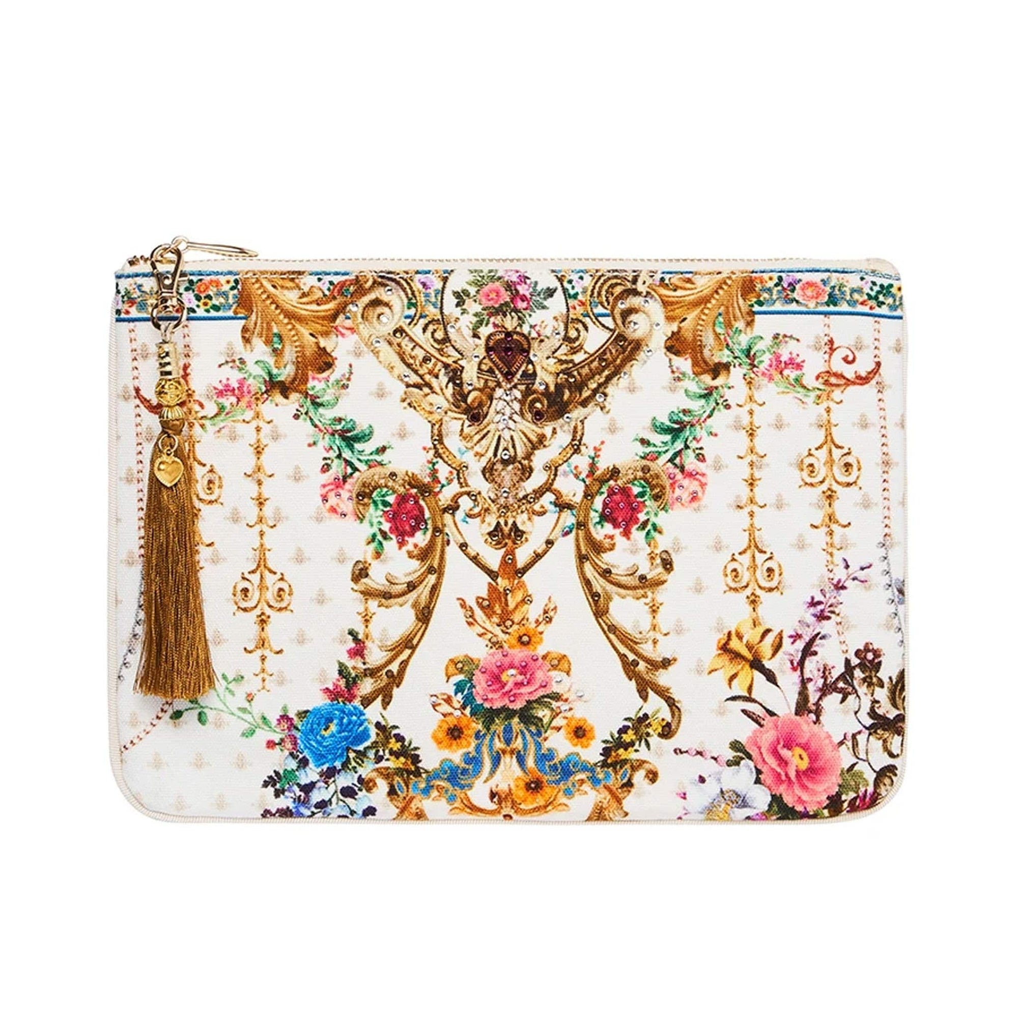 Camilla By The Meadow Small Canvas Clutch
