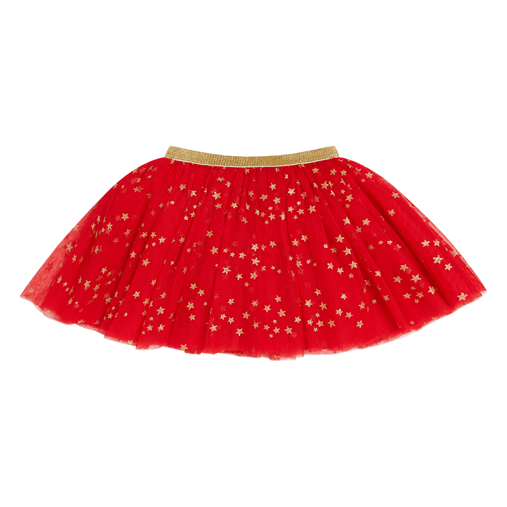 Rock Your Kid Red Star Seeker Skirt