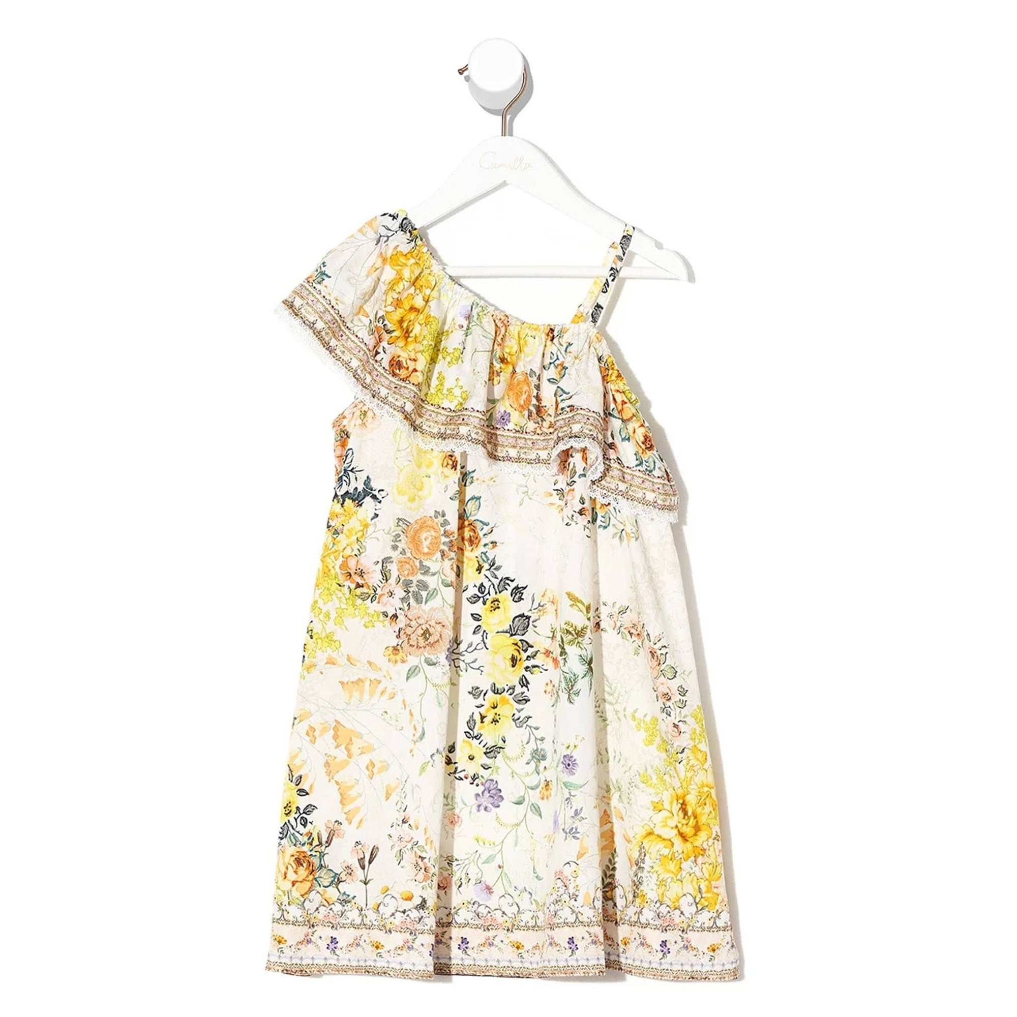 Camilla In the Hills Of Tuscany Infants One Shoulder Dress