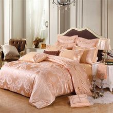 Load image into Gallery viewer, SlowDream Bed Linen Euro Cotton Decor Bedspread Double Queen King Bedding Set Duvet Cover Bed Sheet Pillowcases Home Bedding Set