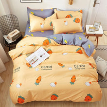 Load image into Gallery viewer, classic flower bed linens Simple luxury bedding set home textiles fashion bedclothes Duvet Cover set Quilt cover Queen king size
